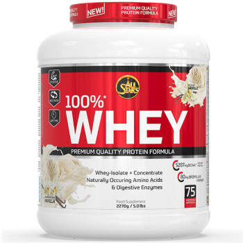ALL STARS 100% WHEY PROTEIN (2350G DOSE)